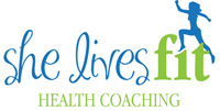 She Lives Fit Health Coaching logo